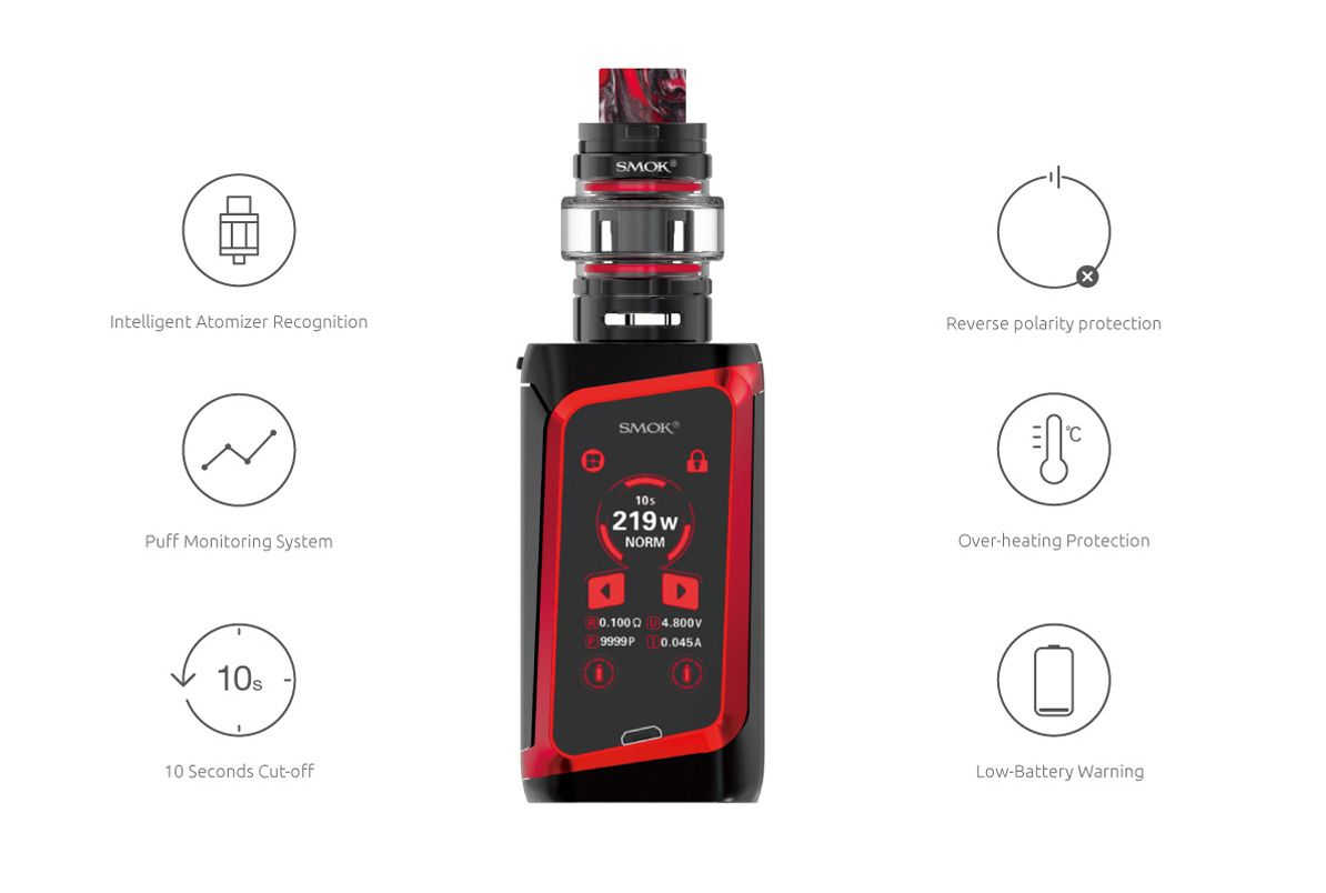 Smok Morph 219 Safety Protections