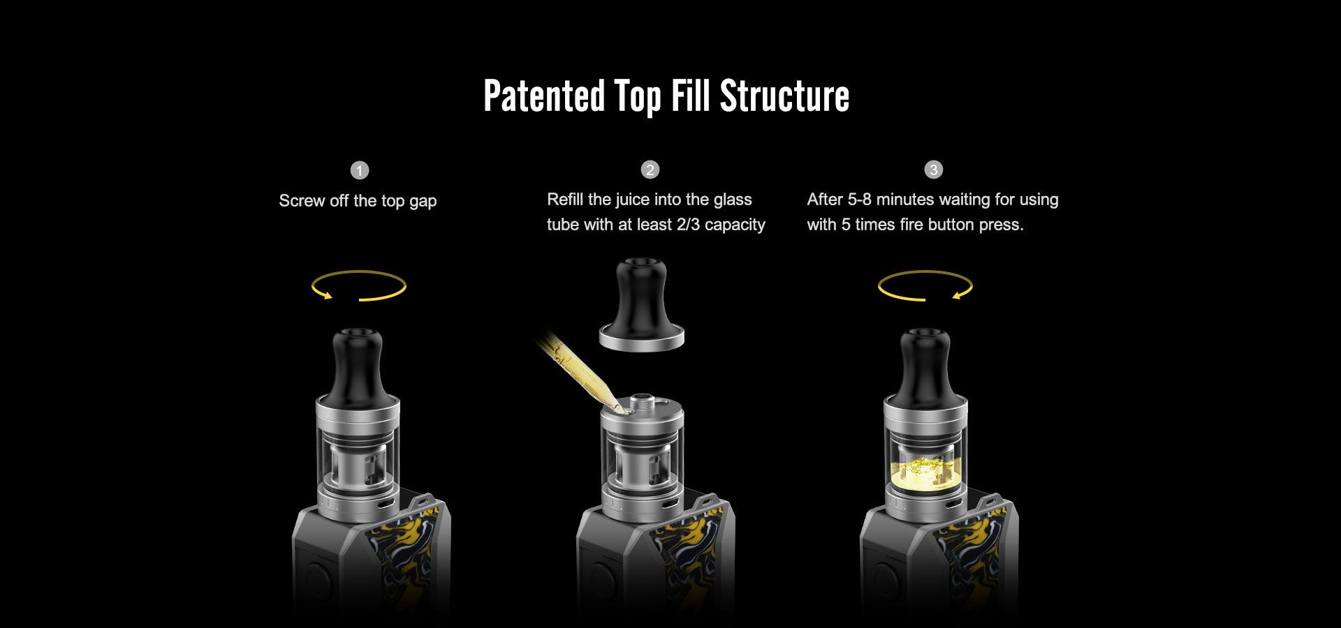 Voopoo-drag-baby-trio-mod-device-tank-filling-hole