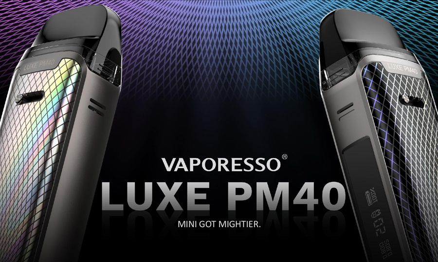 LUXE PM40 vaporesso Banner pod kit 40w