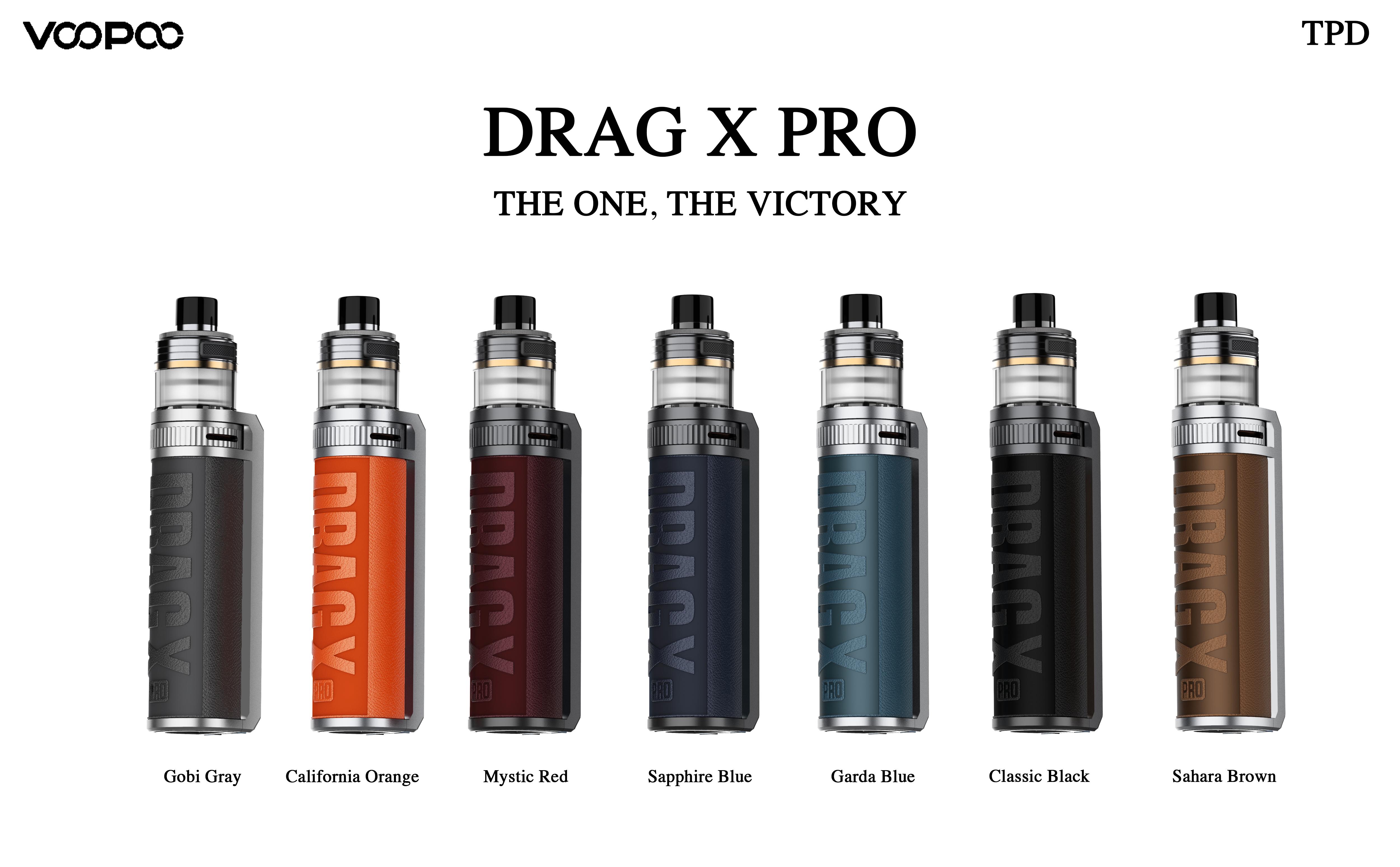Voopoo Drag-X Pro Drag X 7 Colours