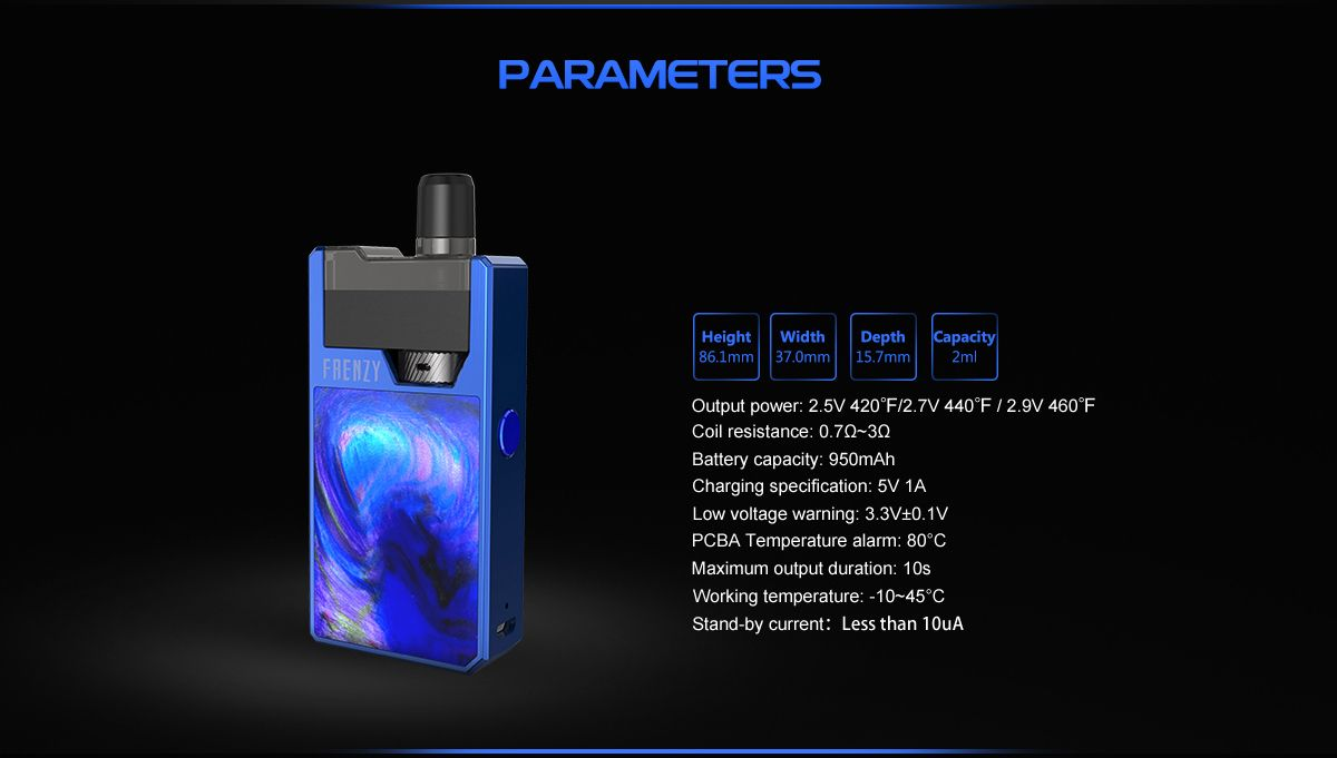 geekvape-frenzy-pod-device-specifications-perimeters