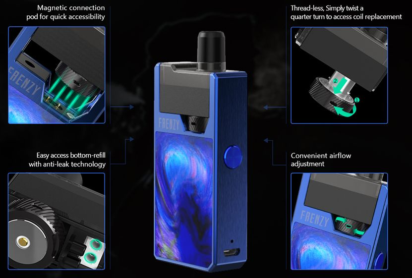 Geekvape Frenzy Features