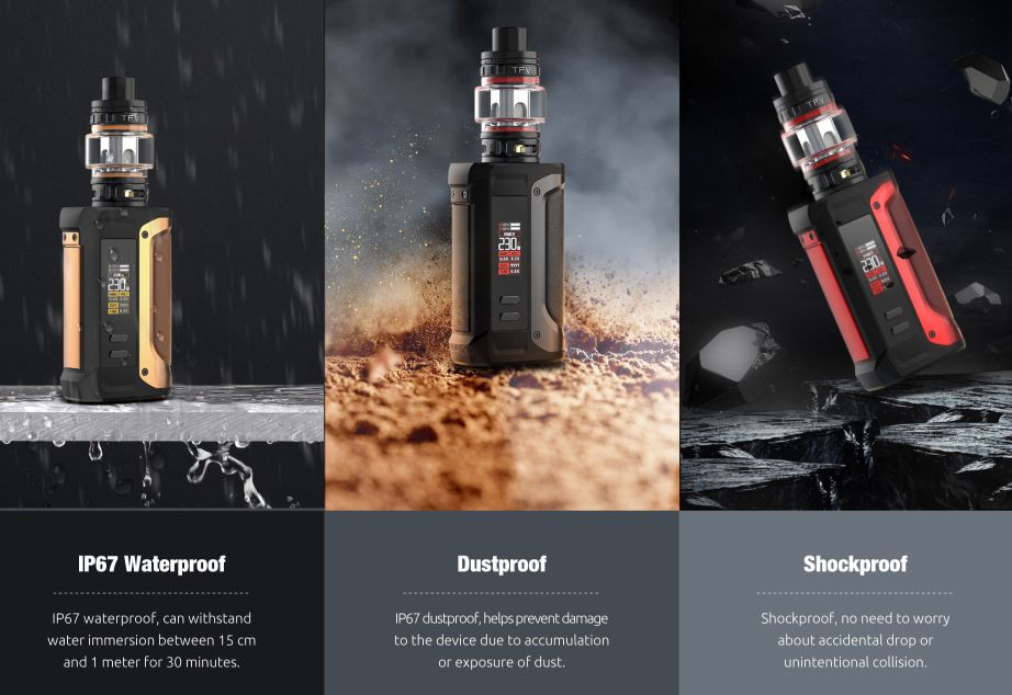 Smok Arcfox IP67 Water dust shock proof