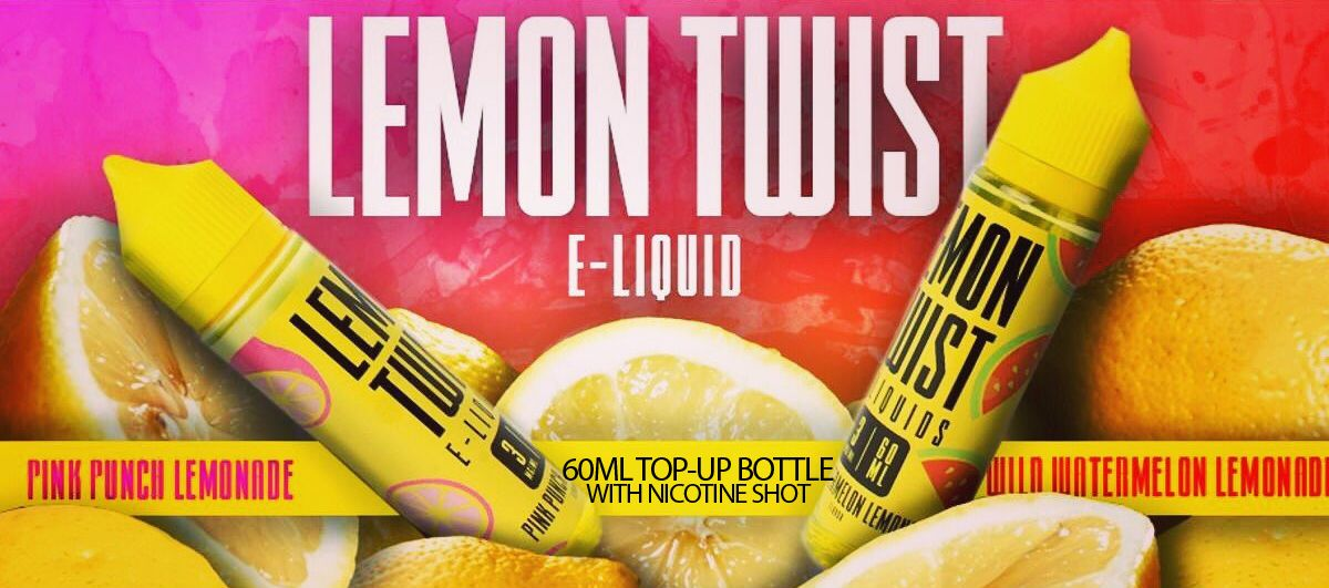 ec929b7e8f1d Lemon Twist E-liquids are a premium range of high VG