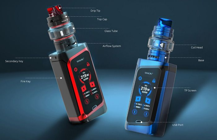 Smok Morph 219 Specifications Components