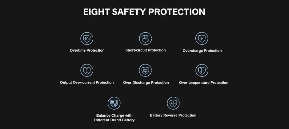 Voopoo Drag 3 Safety Protections