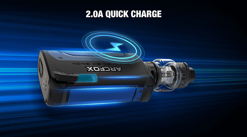 Smok arcfox 230w Kit Device USB USB-C Charging Cable