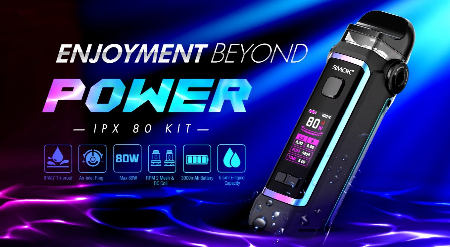 Smok IPX 80 Pod Kit Device