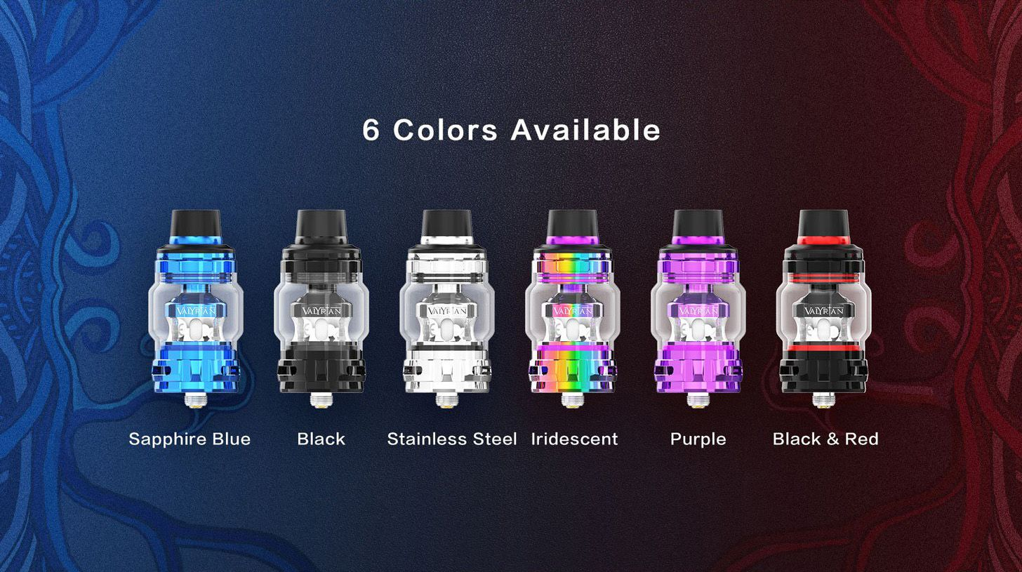 Uwell Valyrian II 2 Tank Available Colours