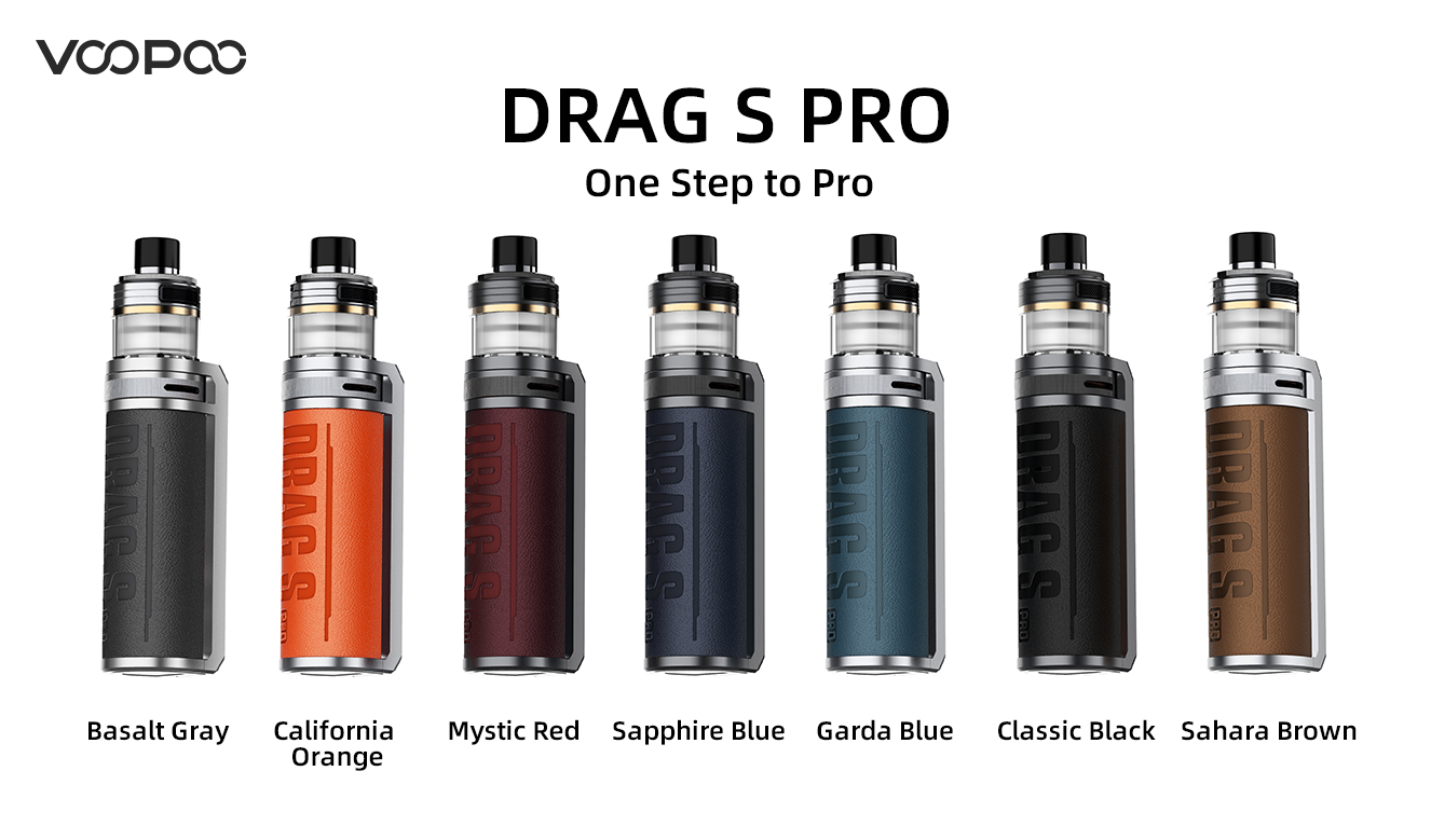 Voopoo Drag-S Pro Drag S 7 Colours